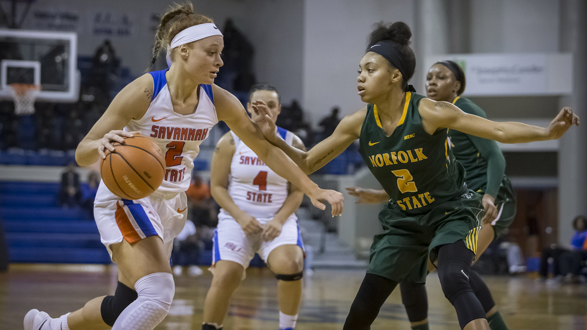 351fcfb7a9f8 Allen Sets School Record and Sowell Has Career Day  WBB Falls to ...